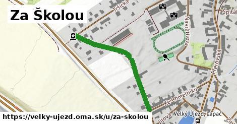 ilustrácia k Za Školou, Velký Újezd - 358m