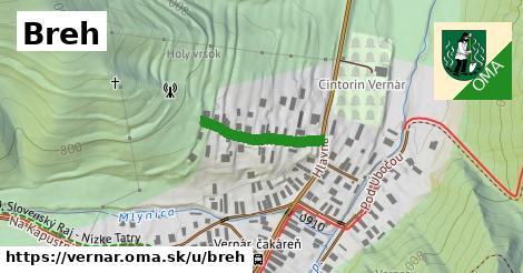 ilustrácia k Breh, Vernár - 177m