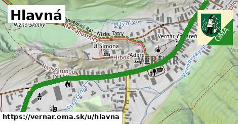 ilustrácia k Hlavná, Vernár - 0,89km