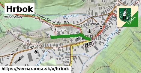 ilustrácia k Hrbok, Vernár - 217m