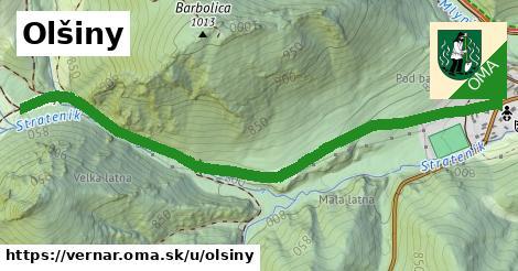 ilustrácia k Olšiny, Vernár - 1,49km