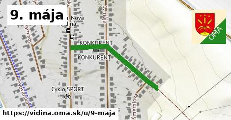 ilustrácia k 9. mája, Vidiná - 312m