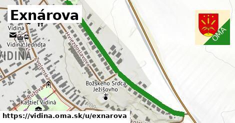 ilustrácia k Exnárova, Vidiná - 575m