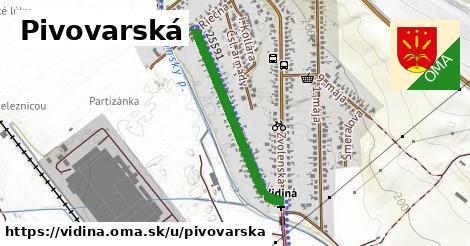 ilustrácia k Pivovarská, Vidiná - 631m