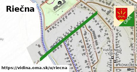 ilustrácia k Riečna, Vidiná - 326m