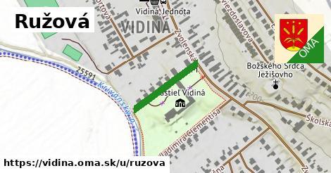 ilustrácia k Ružová, Vidiná - 179m