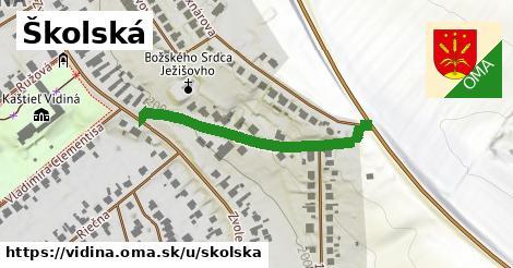 ilustrácia k Školská, Vidiná - 354m