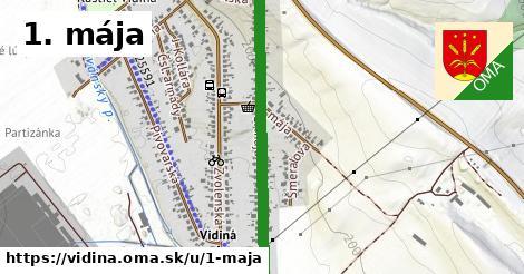 ilustrácia k 1. mája, Vidiná - 0,80km