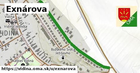 ilustrácia k Exnárova, Vidiná - 580m