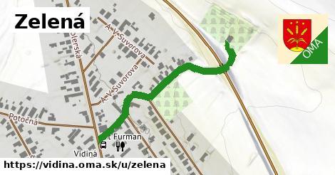 ilustrácia k Zelená, Vidiná - 410m