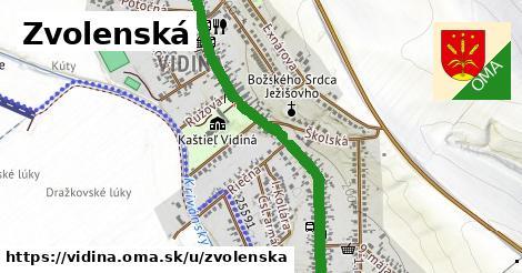 ilustrácia k Zvolenská, Vidiná - 1,71km