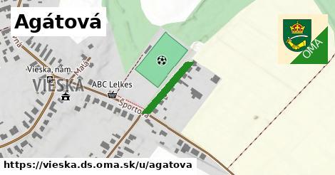 ilustrácia k Agátová, Vieska, okres DS - 152m