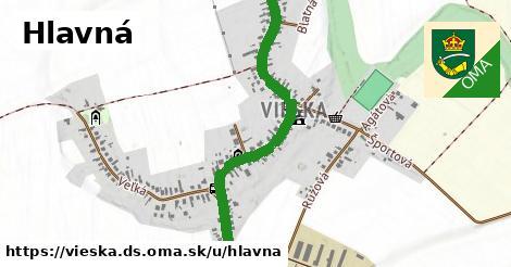 ilustračný obrázok k Hlavná, Vieska, okres DS