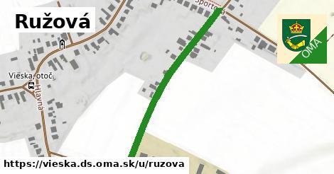 ilustrácia k Ružová, Vieska, okres DS - 440m