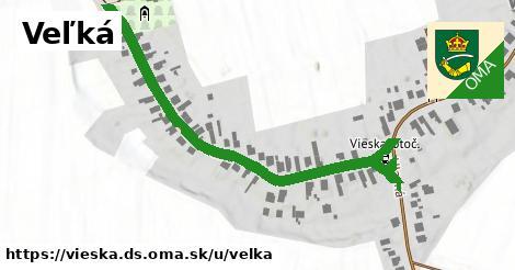 ilustrácia k Veľká, Vieska, okres DS - 638m