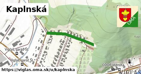 ilustrácia k Kaplnská, Vígľaš - 258m