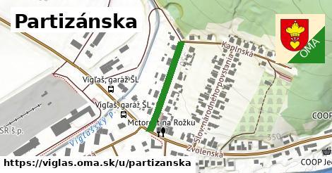 ilustrácia k Partizánska, Vígľaš - 214m