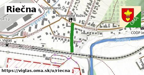 ilustrácia k Riečna, Vígľaš - 150m