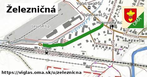 ilustrácia k Železničná, Vígľaš - 347m