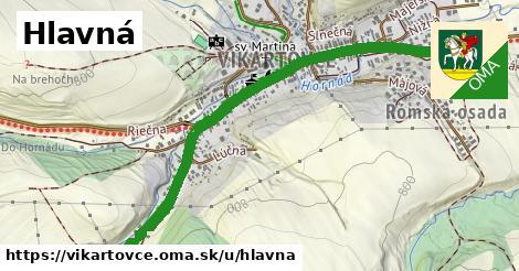 ilustrácia k Hlavná, Vikartovce - 1,23km