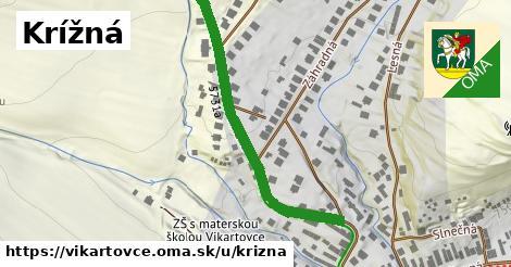 ilustrácia k Krížná, Vikartovce - 349m
