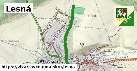 ilustrácia k Lesná, Vikartovce - 545m