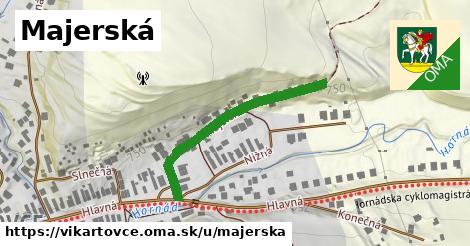 ilustrácia k Majerská, Vikartovce - 362m