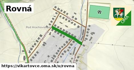 ilustrácia k Rovná, Vikartovce - 201m