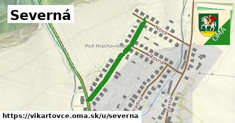 ilustrácia k Severná, Vikartovce - 307m