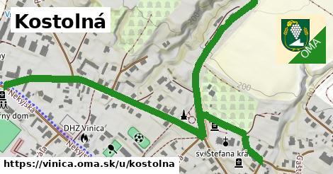ilustrácia k Kostolná, Vinica - 1,12km