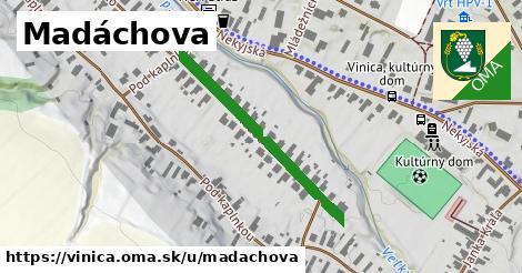 ilustrácia k Madáchova, Vinica - 316m