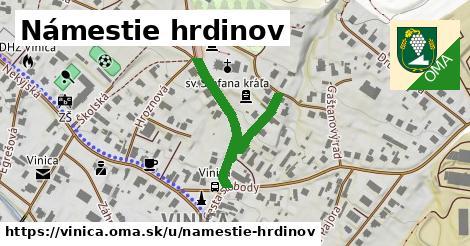 ilustrácia k Námestie hrdinov, Vinica - 356m