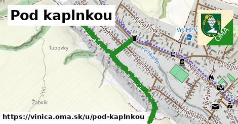 ilustrácia k Pod kaplnkou, Vinica - 1,10km