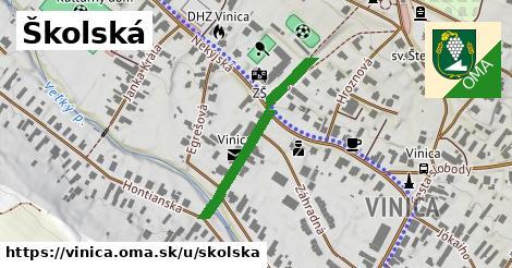 ilustrácia k Školská, Vinica - 387m