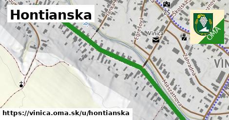 ilustrácia k Hontianska, Vinica - 0,73km