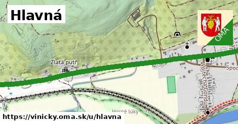 ilustrácia k Hlavná, Viničky - 1,94km