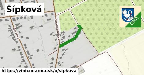ilustrácia k Šípková, Viničné - 191m