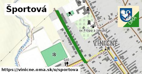 ilustrácia k Športová, Viničné - 316m