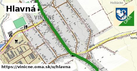 ilustrácia k Hlavná, Viničné - 2,3km