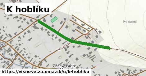 ilustrácia k K hoblíku, Višňové, okres ZA - 397m