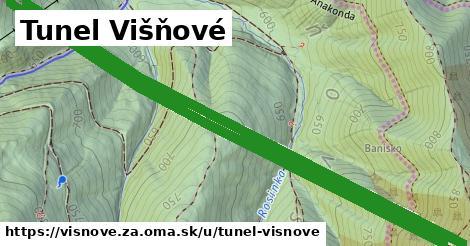 ilustrácia k Tunel Višňové, Višňové, okres ZA - 6,1km
