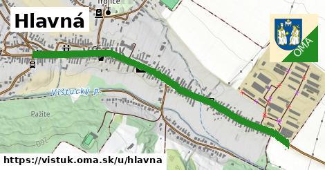 ilustrácia k Hlavná, Vištuk - 1,28km