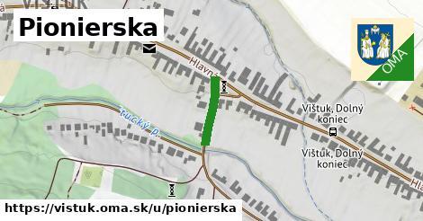 ilustrácia k Pionierska, Vištuk - 123m