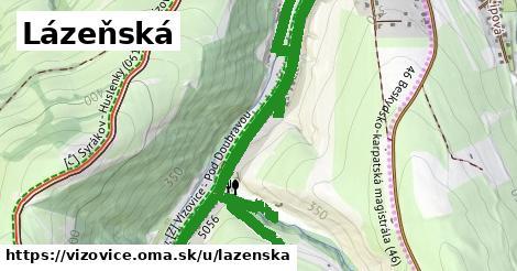 ilustrácia k Lázeňská, Vizovice - 2,3km