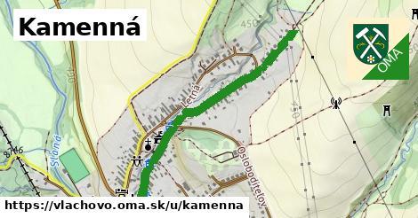 ilustrácia k Kamenná, Vlachovo - 0,87km