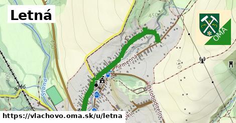 ilustrácia k Letná, Vlachovo - 0,76km