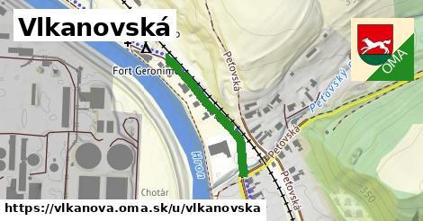 ilustrácia k Vlkanovská, Vlkanová - 257m