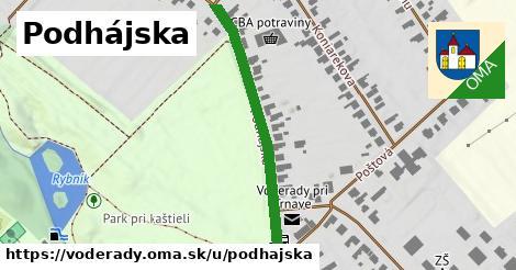 ilustrácia k Podhájska, Voderady - 423m