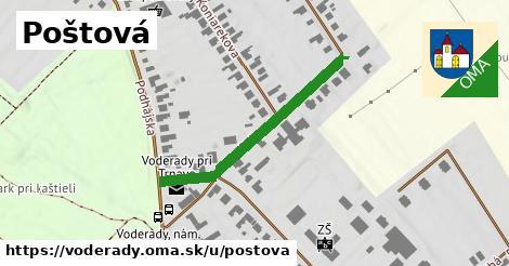 ilustrácia k Poštová, Voderady - 371m