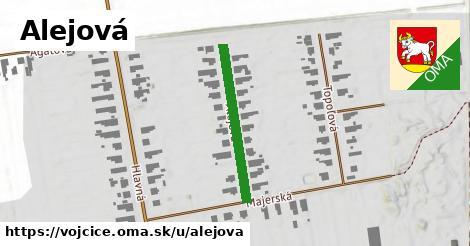 ilustrácia k Alejová, Vojčice - 253m
